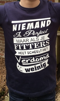Niemand is perfect....
